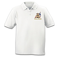 USMC Bulldog Polo Shirt
