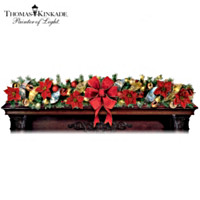 Thomas Kinkade Wondrous Holiday Garland