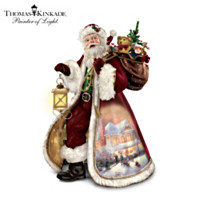 Thomas Kinkade Season Of Giving Sculpture