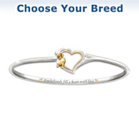 Faithful Friend Dog Bracelet