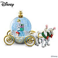 Disney's A Party For A Princess Miniature Snowglobe