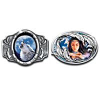 Sacred Calling And Mystic Maiden Belt Buckles