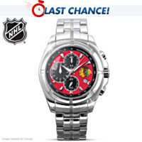 Chicago Blackhawks® Stanley Cup® Champs Men's Watch