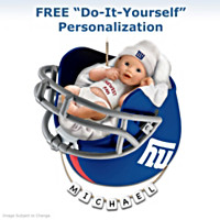 New York Giants Ornament
