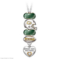Go Packers! Super Bowl XLV Champions Charm Necklace