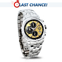 New Orleans Saints Super Bowl Champions Men's Watch