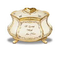 Heirloom Messages Recordable Keepsake Box