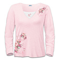 Blossoms Of Hope Women's Shirt