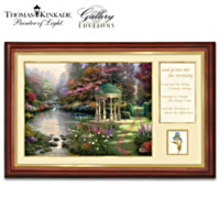 Thomas Kinkade Serenity Prayer Wall Decor