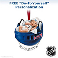 New York Rangers® Personalized Baby's First Ornament