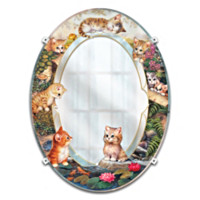 Purrfect Reflections Wall Decor