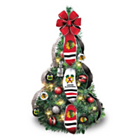 Chicago Blackhawks® Pre-Lit Pull-Up Tree