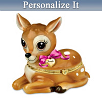 Granddaughter, You're My Little Dear Personalized Music Box