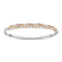 Strength Of Faith Diamond Bracelet
