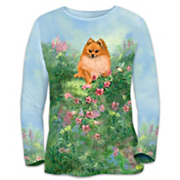 Pomeranian Dreams Women's Shirt