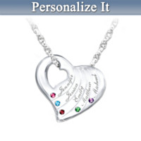 Family Is Love Personalized Pendant Necklace