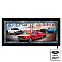 Classic Mustangs Wall Decor