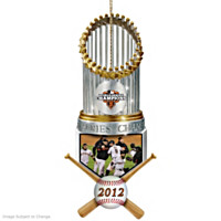 San Francisco Giants 2012 World Series Champions Ornament
