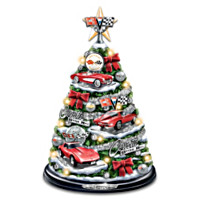 Corvette: Oh What Fun It Is To Drive Tabletop Christmas Tree