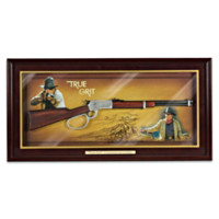 True Grit Commemorative Rifle Wall Decor