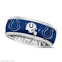 Indianapolis Colts #1 Fan Spinning Ring