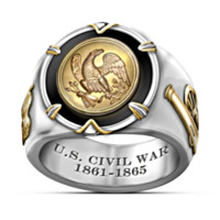 U.S. Civil War Men's Ring