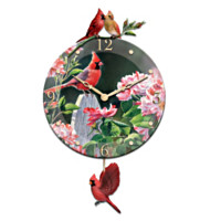 Cardinal Serenade Wall Clock