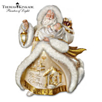 Thomas Kinkade Spirit Of The Season St. Nicholas Figurine