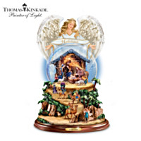 Thomas Kinkade O Night Divine Snowglobe
