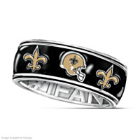 New Orleans Saints #1 Fan Spinning Ring