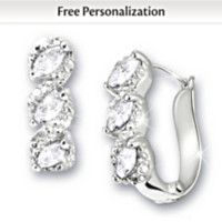 Celebration Birthstone And Diamond Earrings