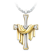Resurrection Diamond Pendant Necklace