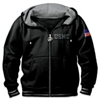 USMC Freedom Fighters Men's Hoodie