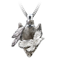 Sacred Guardian Pendant Necklace