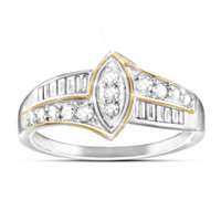 The Marquise Diamond Women's Ring