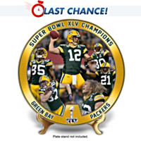 The Green Bay Packers Super Bowl Champion Plate