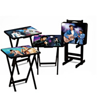 Elvis Presley Tray Table Set