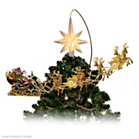 Pittsburgh Steelers Holiday Pride Tree Topper