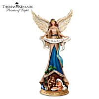 Thomas Kinkade Night Of The Dear Savior's Birth Figurine