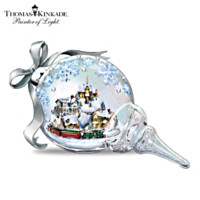 Thomas Kinkade Together For The Holidays Sculpture