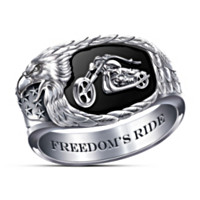 Freedom's Ride Men's Ring