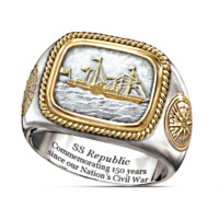 SS Republic Collector's Edition Commemorative Ring