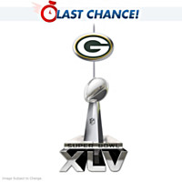 Green Bay Packers Super Bowl XLV Championship Ornament