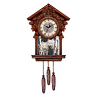 Timeless Encounter Cuckoo Clock
