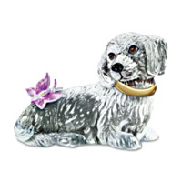 Sparkling With Personality Dachshund Sculpture