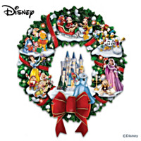 The Wonderful World Of Disney Christmas Wreath