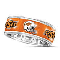 Oklahoma State Cowboys #1 Fan Spinning Ring