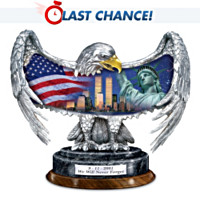 9/11 Commemorative Eagle Figurine