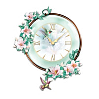 Timeless Garden Treasures Wall Clock