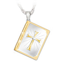 Biblical Blessings Diamond Pendant Necklace